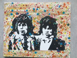 Mick Jagger et Keith Richard
