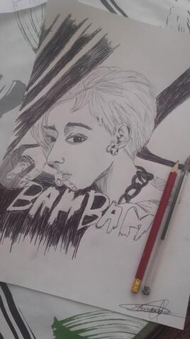 """Artist-Kpop """"BamBam"""" (GOT7)"""