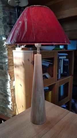 Lampe Fuseau en Cerisier