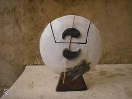 Sculpture poterie raku boite a rêve