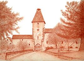 AMMERSCHWHIR Porte nord Haut Rhin 68000 FRANCE