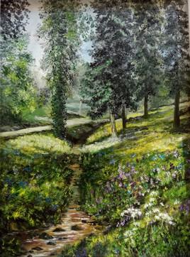 Dans le parc du Château de Nieul