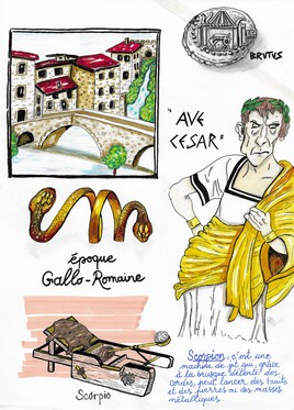 Planche histoire Gallo-Romaine