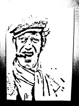 Portrait de Jean Paul Belmondo