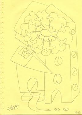 Une coulée de fleur ...