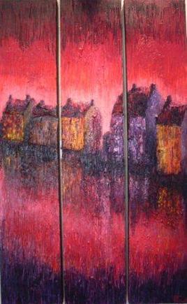 maisons rouges