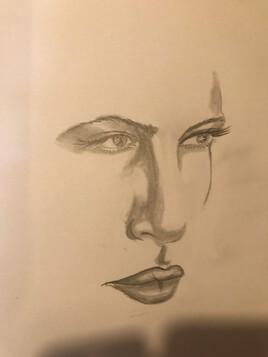 Profile jeune femme
