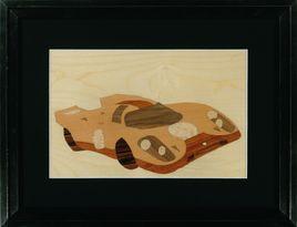 Porsche 917 aux décorations Gulf
