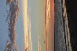 le soleil s'est couché à Noirmoutier
