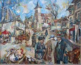 Un marché dans le Cantal