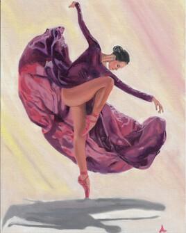 Ballerina / viollet