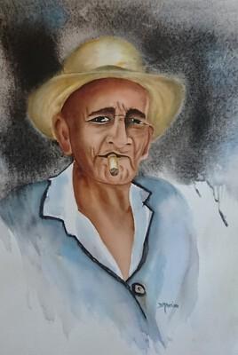 El cigarillo de Cuba.