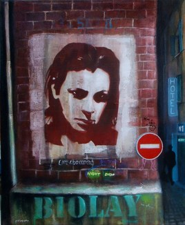 Benjamin Biolay sur le mur de ma rue