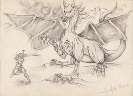 Le dragon et le chevalier
