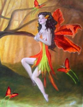 La fée aux papillons