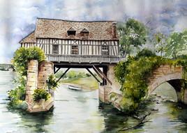 le moulin de Vernon -Eure