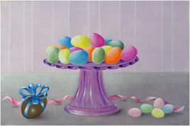 Pâques ... aux bonbons...