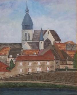 Le village de Damery