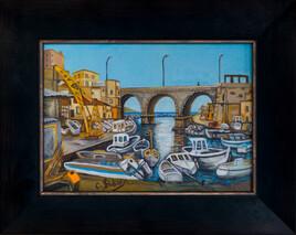Marseille le Vallon des Aufffes