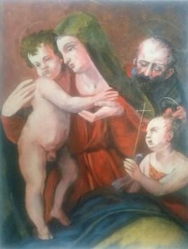 Sainte Famille avec St Jean Baptiste