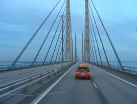 pont menant à Copenhaguen