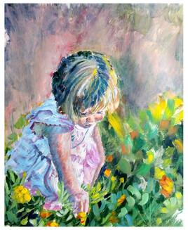 Un enfant sans innocence est une fleur sans parfum ( Chateaubriand )