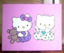 frere et soeur bébé kitty