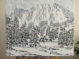 paysage d'hiver II