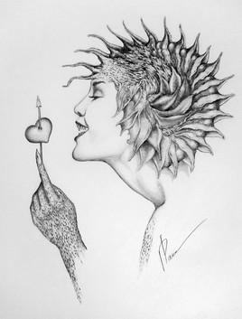 Une flèche de Cupidon