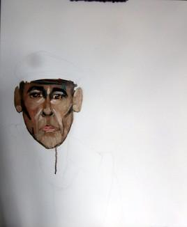début autoportrait
