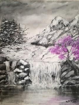 Un jour de neige embaumé de lilas