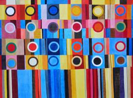 Deux douzaines - art abstrait