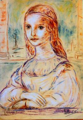 étude Mona Lisa