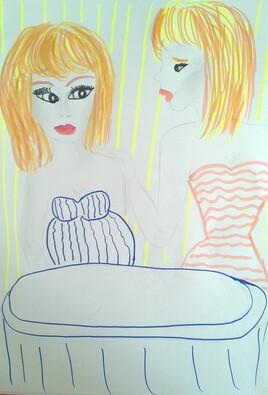 Ella et le déjeuner avec sa meilleure amie Acte IV
