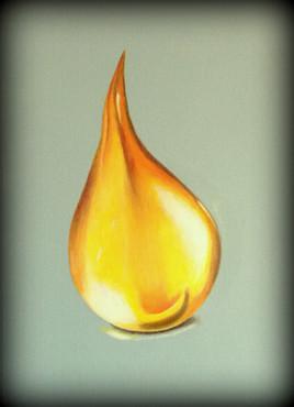 Golden drop.