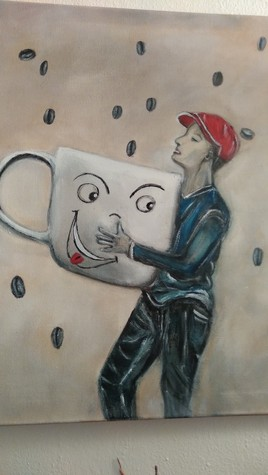 pluie de café