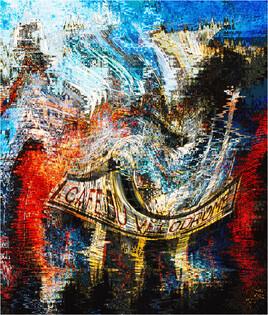 Cristalum 5 Œuvre originale unique signée et numérotée