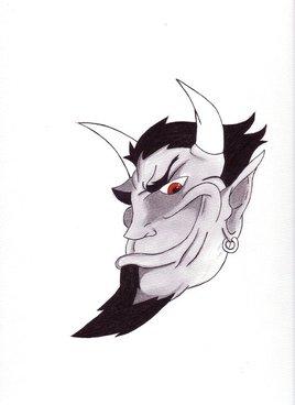 Diable aux yeux rouges