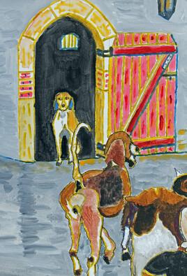 Chenil de Cheverny chiens pour chasse à courre