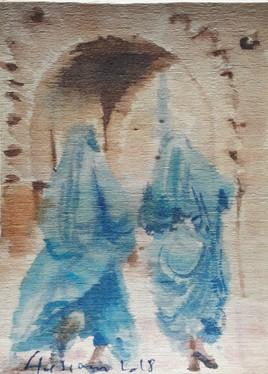 Le Izarr bleu.