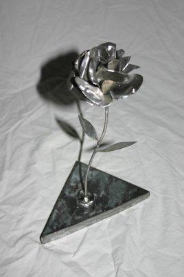 ROSE METAL 2 (socle metal) ref:ROSEM0013HB