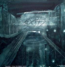 Canal en Ambiance nocturne