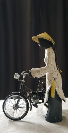 A vélo de dos