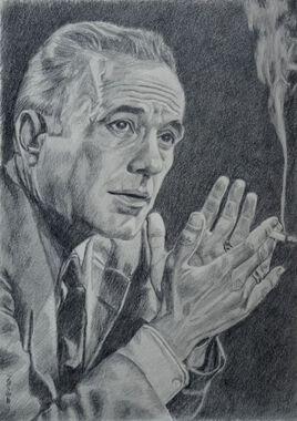 portrait de Humphrey Bogart (2019)