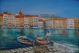 La baie de Saint Tropez d'antan