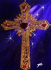 croix dorée