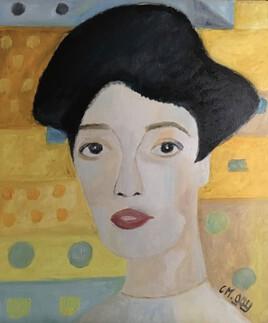 """""""Interprétation de Madame Bauer de Klimt"""""""