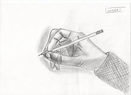 etude de main ..