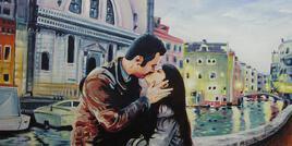 Notre Week-End à Venise (1m x 0,50m)