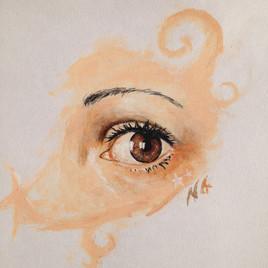 oeil étoilé